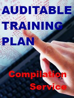 Auditable Training Plan