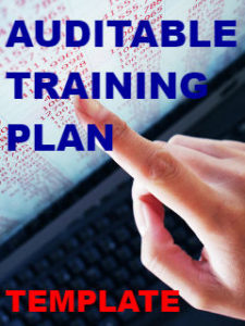 Auditable Training Plan Template image