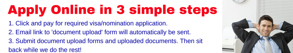 3 step easy online visa application process
