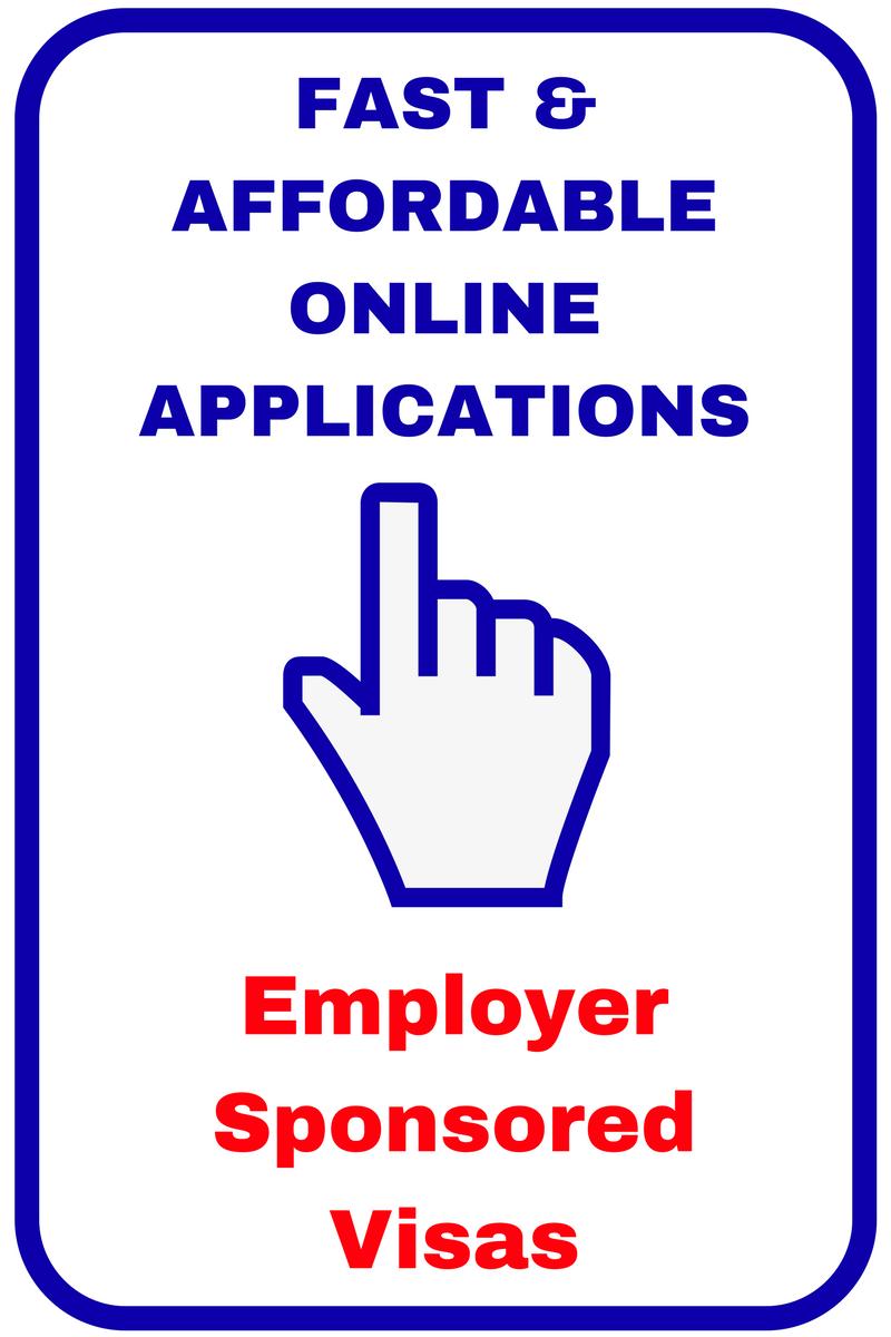 Easy Online Visa Application Sponsored Work Visas