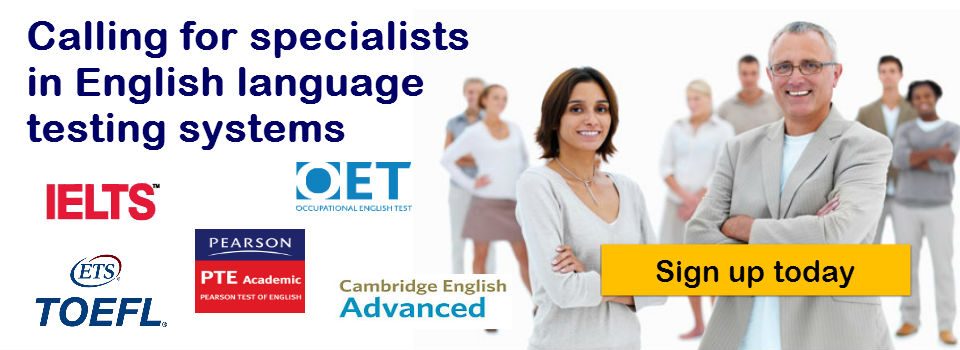 IELTS TEACHERS NEEDED