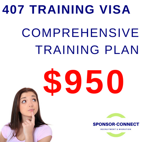 Training Plan for Training Visa 407